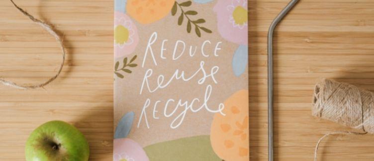 mensaje de reciclaje