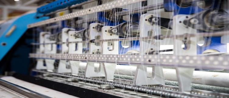 Maquinaria textil que mejora procesos
